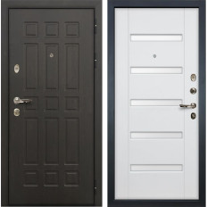 Входная дверь Лекс Сенатор 8 Ясень белый (панель №34)