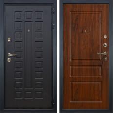 Входная дверь Лекс Гладиатор 3К Винорит дуб тёмный (панель №92)