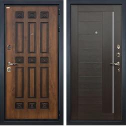 Входная металлическая дверь Лекс Гладиатор 3К Винорит Верджиния Венге (панель №39)