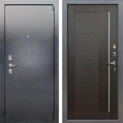 Входная стальная дверь Лекс 3 Барк Верджиния (Серый букле / Венге) панель №39