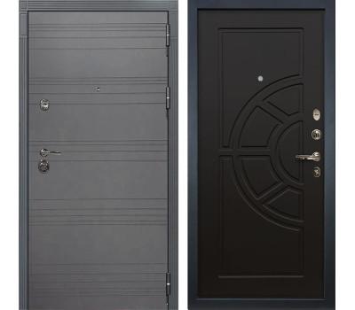 Входная металлическая дверь Лекс Сенатор 3К Софт графит / Венге (панель №43)