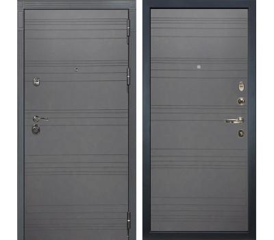Входная металлическая дверь Лекс Сенатор 3К Софт графит / Софт графит (панель №70)