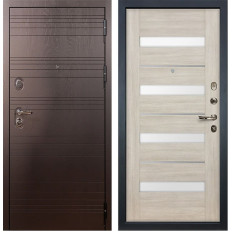 Входная дверь Лекс Легион Сицилио Ясень кремовый (панель №48)