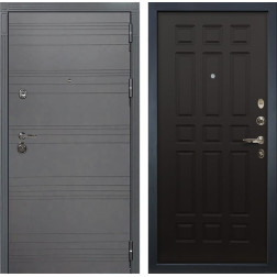 Входная дверь Лекс Сенатор 3К Софт графит / Венге (панель №29)