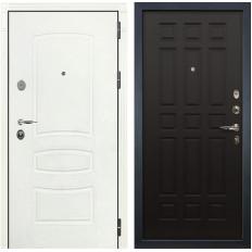 Входная дверь Лекс Легион 3К Шагрень белая / Венге (панель №29)
