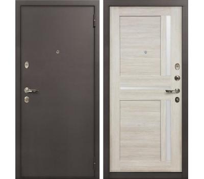 Входная стальная дверь Лекс 1А Баджио Ясень кремовый (панель №49)