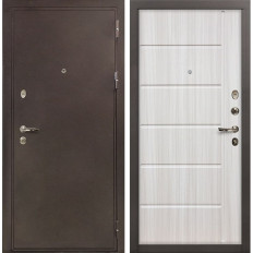 Входная дверь Лекс 5А Цезарь Сандал белый (панель №42)