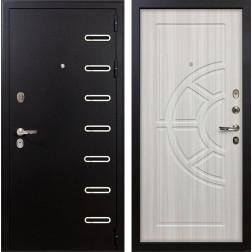 Входная металлическая дверь Лекс Витязь Сандал белый (панель №44)