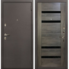 Входная дверь Лекс 1А Неро Графит шале (панель №65)