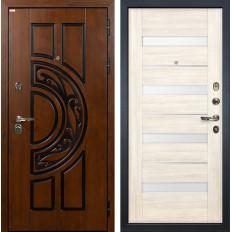 Входная дверь Лекс Спартак Cisa Сицилио Дуб беленый (панель №46)