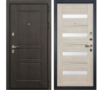 Входная стальная дверь Лекс Сенатор Винорит Сицилио Ясень кремовый (панель №48)