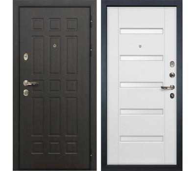 Входная металлическая дверь Лекс Сенатор 8 Ясень белый (панель №34)