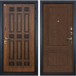 Входная дверь Лекс Гладиатор 3К Винорит Энигма-1 Орех (панель №57)