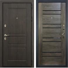 Входная дверь Лекс Сенатор Винорит Терра Графит шале (панель №64)