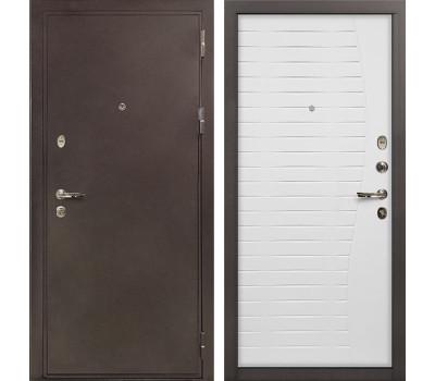 Входная стальная дверь Лекс 5А Цезарь Ясень белый (панель №36)