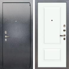 Входная дверь Лекс 3 Барк Вероника-1 Шпон Эмаль Белая (панель №55)