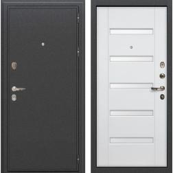 Входная стальная дверь Лекс Колизей Ясень белый (панель №34)