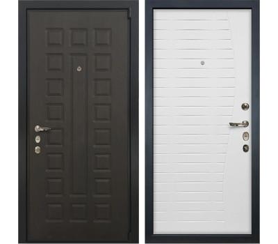 Входная стальная дверь Лекс 4А Неаполь Mottura Ясень белый (панель №36)