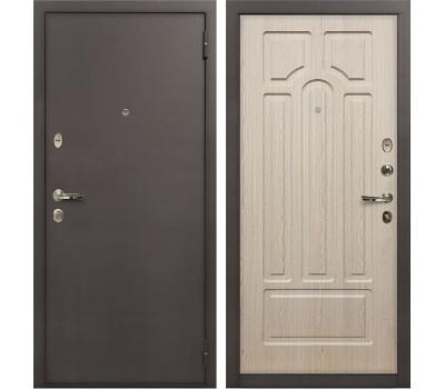 Входная стальная дверь Лекс 1А Дуб беленый (панель №25)