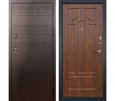 Входная стальная дверь Лекс Легион 3К Береза мореная (панель №26)
