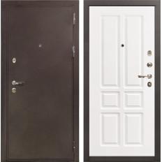 Входная дверь Лекс 5А Цезарь Софт белый снег (панель №87)