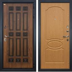 Входная дверь Лекс Гладиатор 3К Винорит Дуб натуральный (панель №15)