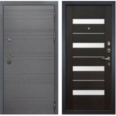 Входная дверь Лекс Сенатор 3К Софт графит / Сицилио Венге (панель №51)