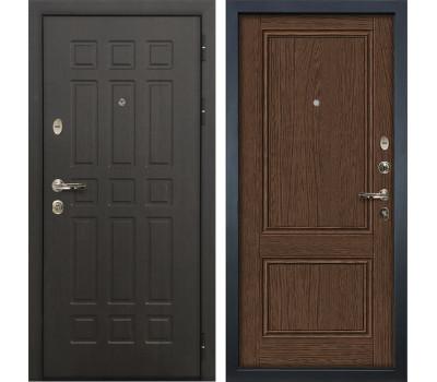 Входная металлическая дверь Лекс Сенатор 8 Энигма-1 Орех (панель №57)