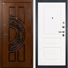 Входная дверь Лекс Спартак Cisa Софт белый снег (панель №94)