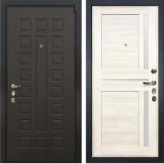 Входная дверь Лекс 4А Неаполь Mottura Баджио Дуб беленый (панель №47)