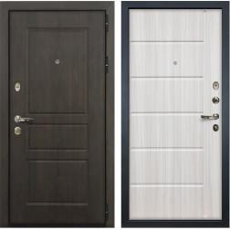 Входная дверь Лекс Сенатор Винорит Сандал белый (панель №42)