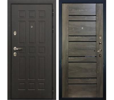 Входная металлическая дверь Лекс Сенатор 8 Терра Графит шале (панель №64)