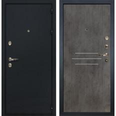 Входная дверь Лекс 2 Рим Бетон тёмный (панель №82)