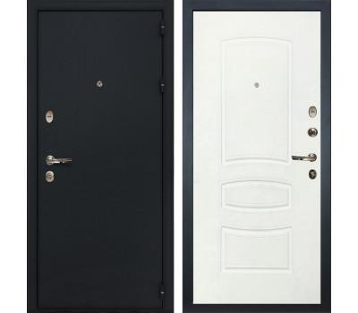 Входная стальная дверь Лекс 2 Рим Белая шагрень (панель №68)