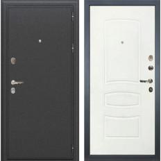 Входная дверь Лекс Колизей Белая шагрень (панель №68)