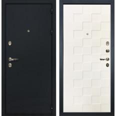Входная дверь Лекс 2 Рим Белая шагрень Квадро (панель №71)