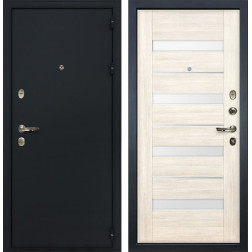 Входная стальная дверь Лекс 2 Рим Сицилио Дуб беленый (панель №46)