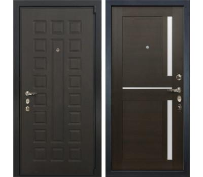 Входная стальная дверь Лекс 4А Неаполь Mottura Баджио Венге (панель №50)