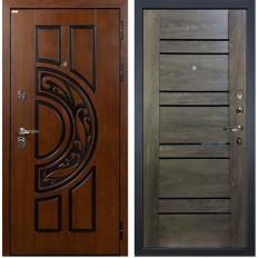 Входная дверь Лекс Спартак Cisa Терра Графит шале (панель №64)