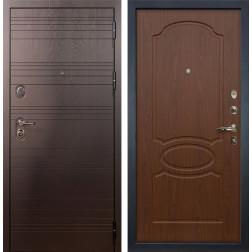 Входная стальная дверь Лекс Легион Береза мореная (панель №12)