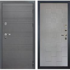Входная дверь Лекс Легион 3К Софт графит / Софт графит Квадро (панель №72)