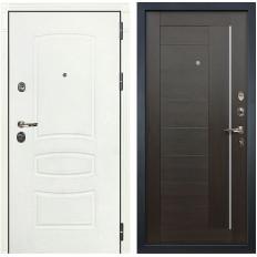 Входная дверь Лекс Сенатор 3К Шагрень белая / Верджиния Венге (панель №39)