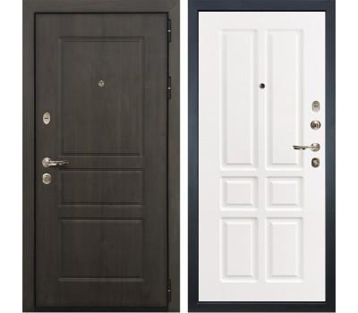 Входная стальная дверь Лекс Сенатор Винорит Софт белый снег (панель №87)