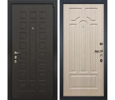 Входная стальная дверь Лекс 4А Неаполь Mottura Дуб беленый (панель №25)