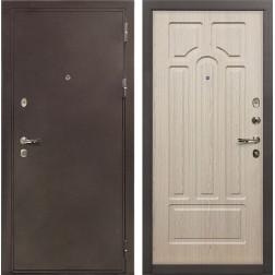 Входная стальная дверь Лекс 5А Цезарь Дуб беленый (панель №25)