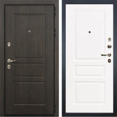 Входная дверь Лекс Сенатор Винорит Софт белый снег (панель №94)