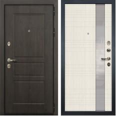 Входная дверь Лекс Сенатор Винорит Новита Дуб беленый (панель №52)