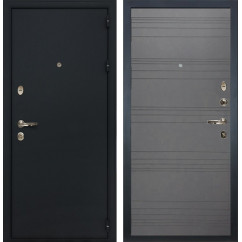 Входная дверь Лекс 2 Рим Графит софт (панель №70)