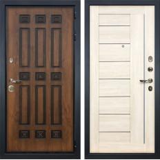 Входная дверь Лекс Гладиатор 3К Винорит Верджиния Дуб беленый (панель №38)
