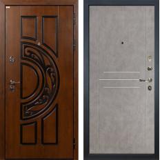 Входная дверь Лекс Спартак Cisa Бетон серый (панель №81)